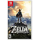 CONSOLE_VIDEO_GAMES  Amazon, модель The Legend of Zelda: Breath of the Wild - Nintendo Switch, артикул B01MS6MO77