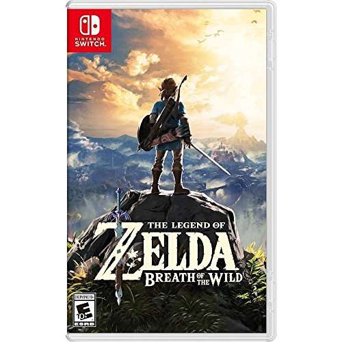 Price comparison product image The Legend of Zelda: Breath of the Wild - Nintendo Switch