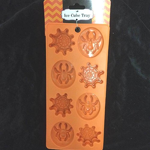 Novelty SPIDER - WEB ICE TRAY MOLD Halloween Jello Shot Birthday (Jello Shot Halloween Costume)