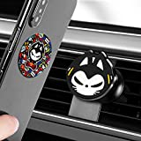 Magnetic Car Phone Mount for Air Vent, 360° Rotation Cat Cartoon & Luxury Design Cell Phone Holder Car Compatible for Samsung iPhone by ZHUAIMAO