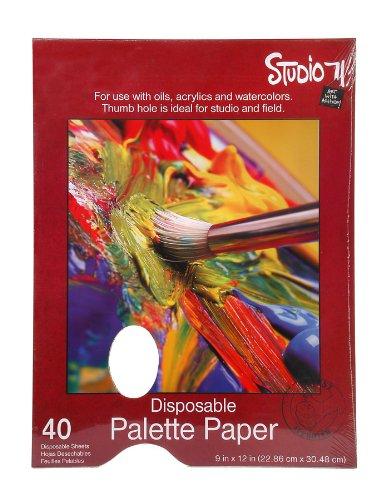 Darice 97490-11 Studio 71 9-Inch-by-12-Inch, 40-Sheet Palette