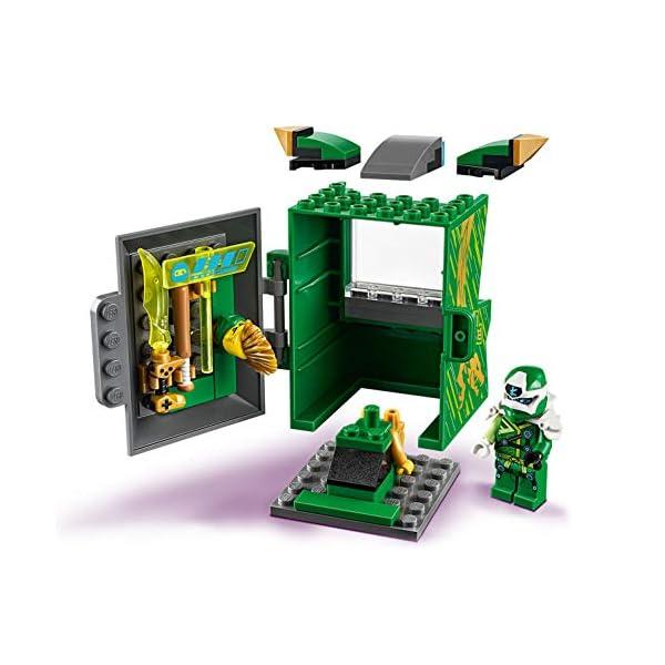 LEGO Ninjago Avatar di Lloyd Pod Sala Giochi con 2 Minifigure: Digi Lloyd con Arma di Controllo Principale e Avatar… 3 spesavip