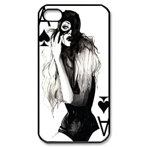 Custom iPhone 4,4S Case, Zyoux DIY Unique iPhone 4,4S Phone Case - Playing card