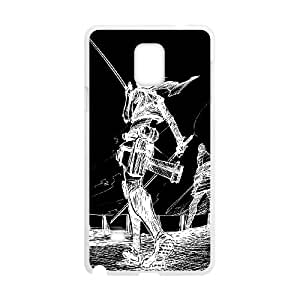 Attack On Titan Samsung Galaxy Note 4 Cell Phone Case White gift pjz003-9378240