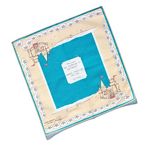 Premium ''RESTORE'' gift handkerchief and card by LOVE DEEPLY~weep freely Handkerchiefs by LOVE DEEPLY~weepfreely Handkerchiefs