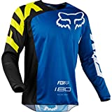Fox Racing 180 Race Men's Off-Road Jersey - Blue/2X-Large