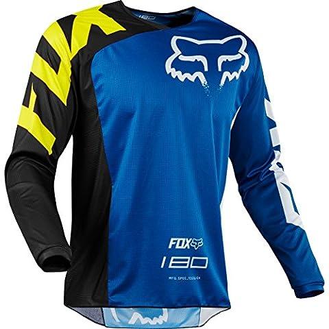 2018 Fox Racing 180 Race Jersey-Blue-M (Fox Jersey Mx)