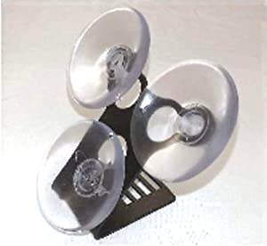 BELTRONICS & ESCORT RADAR DETECTORS WINDSHIELD Bracket Mount w/3 clear suction cups