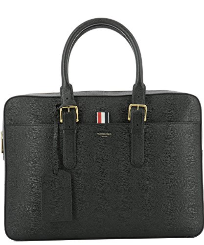 thom-browne-mens-mag045a00198001-black-leather-briefcase