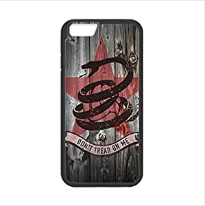 Apple iphone 6 4.7 TPU (Laser Technology) Case, Cell Phone Cover Protective Apple iphone 6 4.7 Case Gadsden Don't Tread On Me Flag