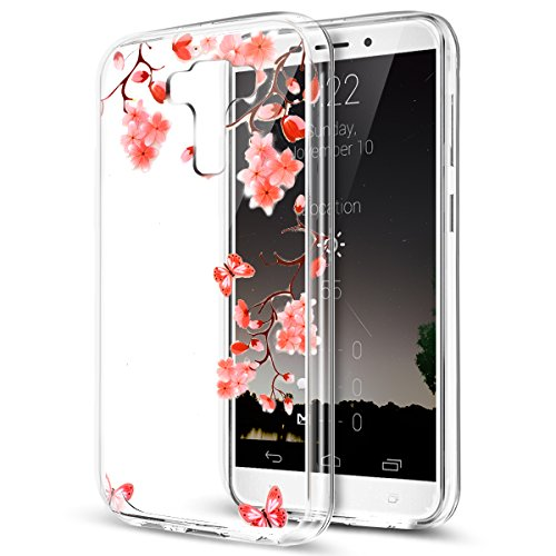 - Asus ZenFone 3 Laser Case,ikasus Ultra Thin Soft TPU Case,Ultra Clear Art Panited Soft Silicone Rubber Crystal Clear Soft Silicone Back Cover for Asus ZenFone 3 Laser,Butterfly Flower
