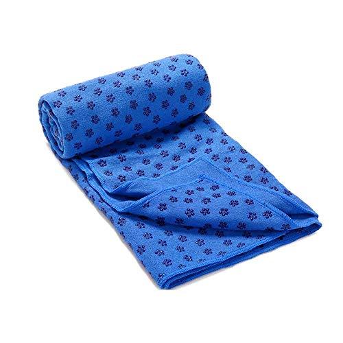 yoga mat Widen Towel, Microfiber Sweat Absorbent & Quick Dry Mat Towel - Ideal for Hot Yoga, Pilates, Machine wash, 18380cm