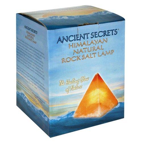Ancient Secrets Rock Salt Lamp, Himalayan Natural, 1 Lamp