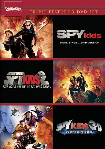 Spy Kids 3-Movie Collection (Spy Kids / The Island Of Lost Dreams / Game Over) by Buena Vista Home Video