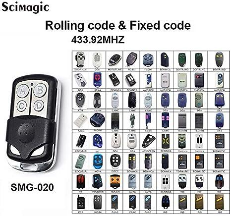 BENINCA LO.T2WMR Compatible Remote Control Rolling code 433.92MHz.