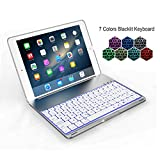 Valoin 7 Colors Baklit Rechargeable Wireless Bluetooth Keyboard - Best Reviews Guide