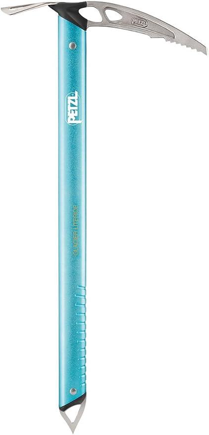 pour Adulte Pic /à Glace PETZL Piolet Glacier Literide Bleu 50 cm avec Marteau et pic