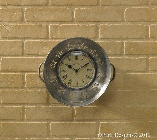 Park Designs Colander Wall Clock
