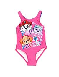 Nickelodeon Paw Patrol Girls One Piece Swimsuit Swimwear (Toddler/Little Kid)
