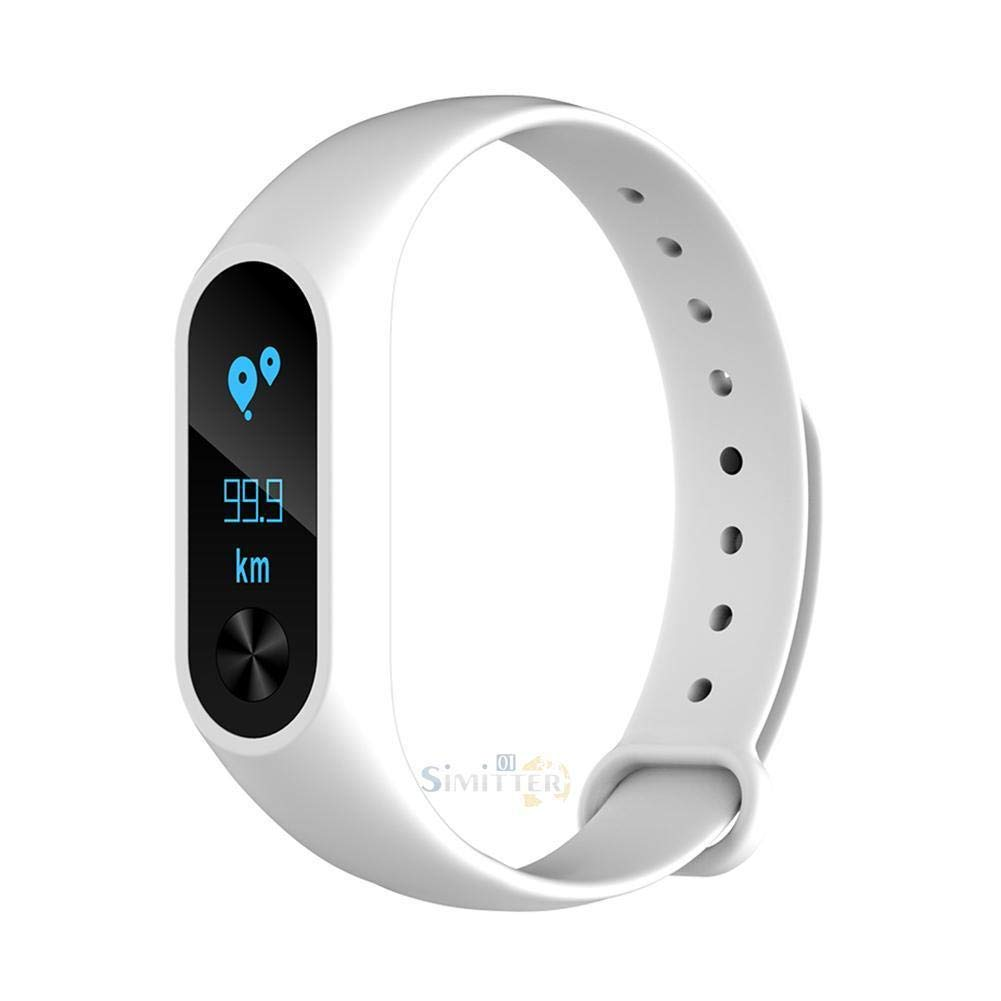 Amazon.com: FidgetKute Touchpad Smart Watch Wristband Bracelet Heart Rate Fitness Tracker Sleep Monitor White: Electronics