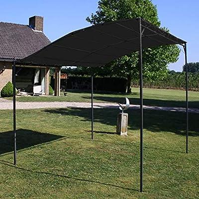 Goliraya Toldo Parasol Gris Antracita 3x2,5 cm Cenador de Jardín y Toldo: Amazon.es: Hogar