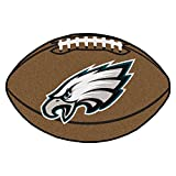 "Fan Mats 5819 NFL - Philadelphia Eagles 22"" x 35"" Football Shaped Area Rug"
