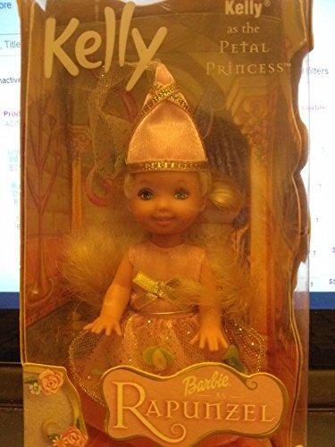 Pams Petals - Mattel Barbie Kelly a The petal Princess Rapunzel