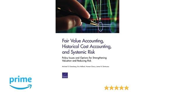 historical cost vs fair value