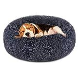 FOCUSPET Dog Bed Donut, Faux FurCuddler Bed