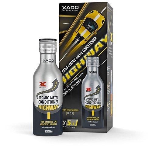 Additivo per olio motore, condizionatore atomico metallo, Highway, con Revitalizant® per protezione e riparazione usura del motore XADO