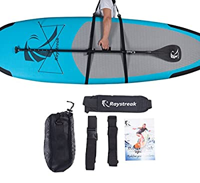 Raystreak Carry Strap Stand Up Paddle Board Padded Carrier with Drawstring Bag