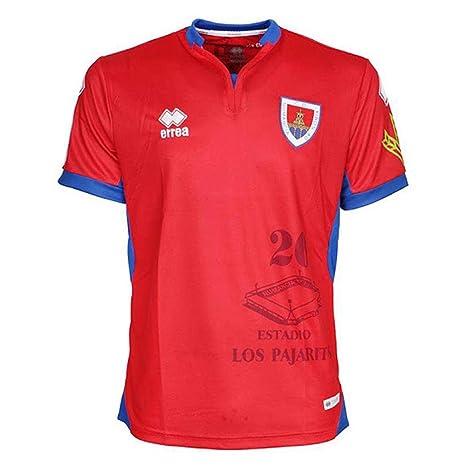 Errea 2018-2019 Numancia Home Football Soccer T-Shirt Camiseta