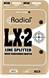 Radial LX2 2-channel Balanced Line Splitter w/Isolation
