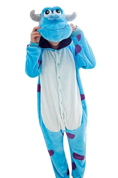 Molly unisexo Pijama de animal disfraz capucha dormir ropa cosplay ...