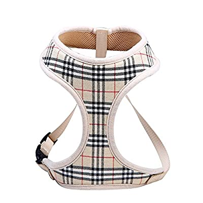 Soft Mesh Dog Harness Cat Harness No Pull Comfort Padded Vest for Puppy or Cat