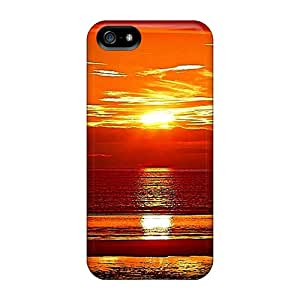Iphone 5/5s Ocean Wonder Of Gold Print High Quality Frame Cases Covers