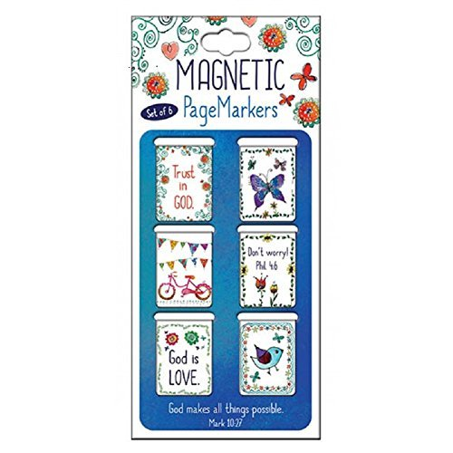 Bookmark - Pagemarker - Magnetic - Everyday Blessings - Small - Set Of 6