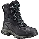 Columbia Women's Bugaboot Plus Omni-Heat Michelin Snow Boot, Black, Cloudburst, 7.5 B US