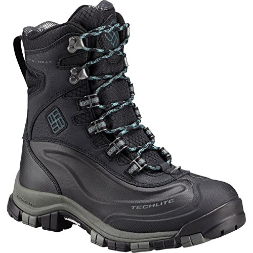 Columbia Women's Bugaboot Plus Omni-Heat Michelin Snow Boot, Black, Cloudburst, 7.5 B US by Columbia