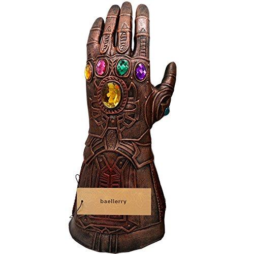 baellerry Halloween Costume Infinity War Thanos Infinity Gauntlet Gloves (Bronze) by baellerry (Image #5)