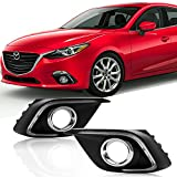 Win Power Mazda 3 Daytime Running Lights Waterproof DRL Fog Lamp Kit for 2014 2015 2016 Axela with Error-Free Canbus- 1 Year Warranty.(1 Pair)