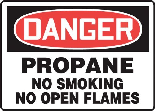 Accuform Signs MCPG025VS Adhesive Vinyl Safety Sign, Legend