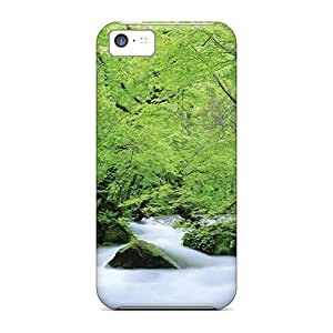 Durable Case For The Iphone 5c- Eco-friendly Retail Packaging(creek In June)