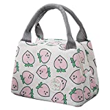 KFSO Lunch Bag Clearance Sale! Square Lunch Bag Waterproof Tote Bag Lunch Organizer Lunch Holder Insulated Lunch Cooler Bag for Women/Wen (E)