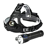 2 In 1 5000LM USB T6 LED Rechargeable Headlamp Headlight Travel Head Torch by Dressffe