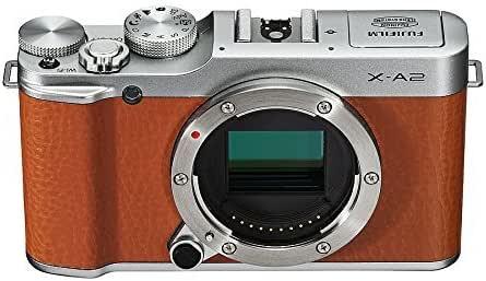 Fujifilm X-A2 - Cámara Digital sin Espejo (Solo Cuerpo marrón ...