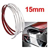 Silver Car Chrome Styling Decoration Moulding