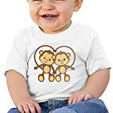 3ds ar cards kirby - Hoeless The MonkeysInfant Short Sleeve TshirtsCozy Shirt 12 Months White