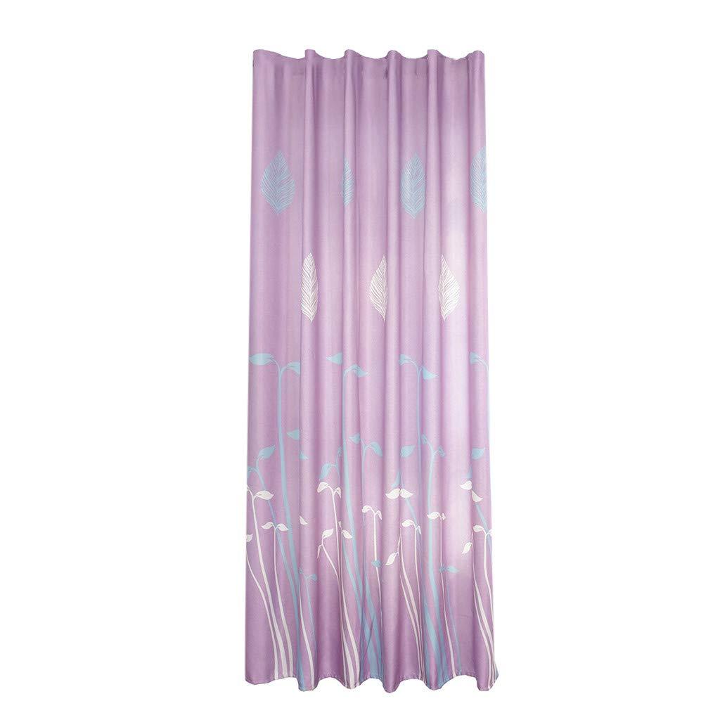 Amazon.com : Clearance Tulle Curtain Panels Window Draperies, Iuhan Leaves  Sheer Curtain Tulle Bathroom Shower Door Window Curtain Drape Panel  Sunlight ...