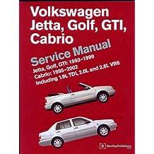 Volkswagen Jetta, Golf, GTI, Cabrio Service Manual: 1993-1999